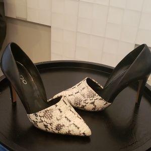 Aldo snake print high heel stilettos size 6.5